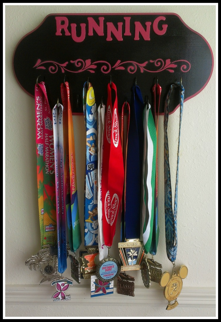 Finished Medal display rack