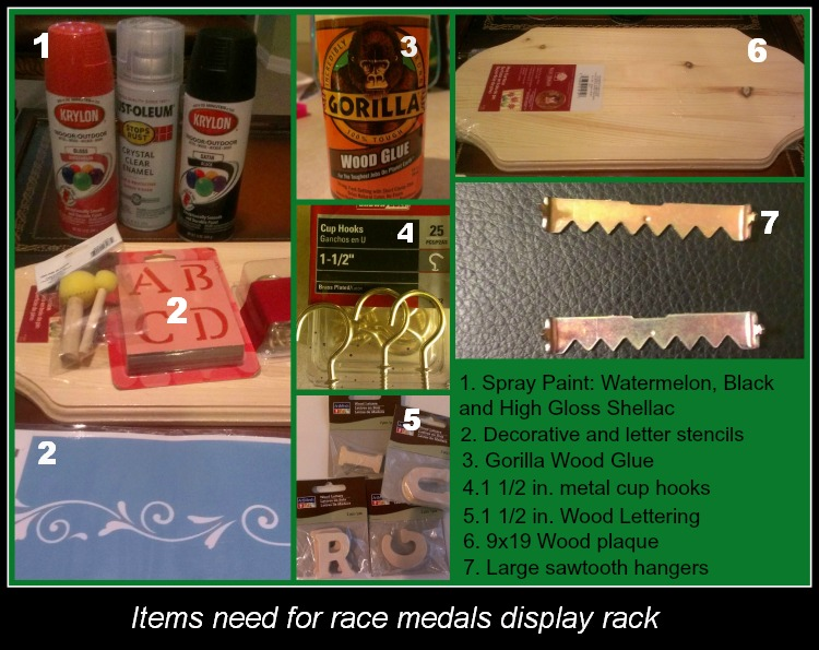 Medal rack supply Collage
