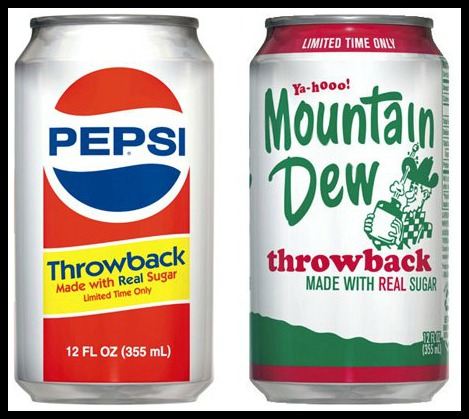 pepsi throw back