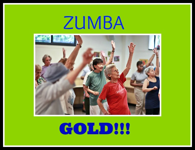 elderly exercise Zumba